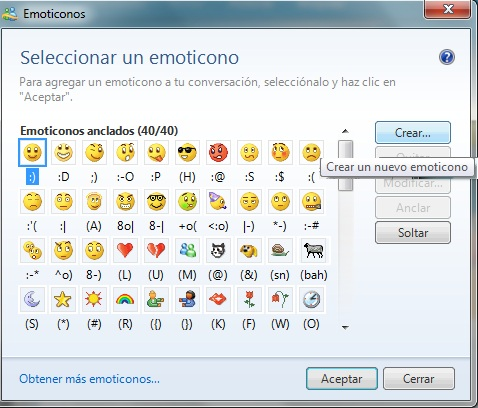 crear emoticones