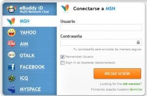web messenger ebuddy