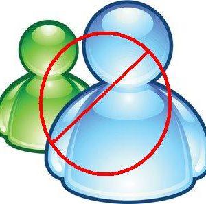 Como bloquear Messenger en Windows XP