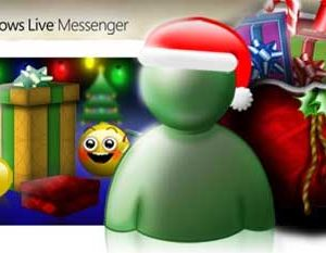 Emoticones animados de navidad para Messenger