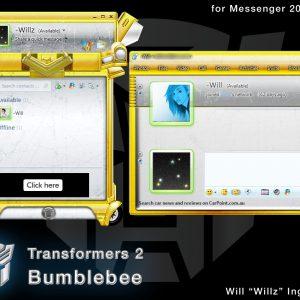 Transformers 2 – Bumblebee, Skin de Transformers para messenger