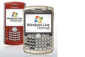 blackberry hotmail