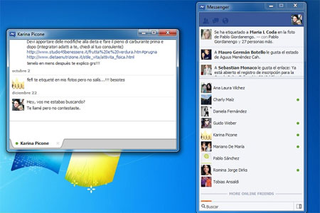 Messenger Facebook Windows 7