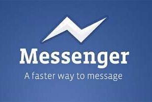 Facebook Messenger con voz