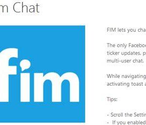 Messenger Fim Chat